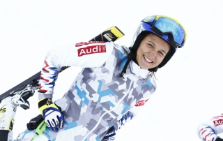 Marielle Berger-Sabbatel a retrouvé le sourire et regarde désormais devant pour retrouver au plus vite le podium en Coupe du monde. Photo C. Pallot / Zoom